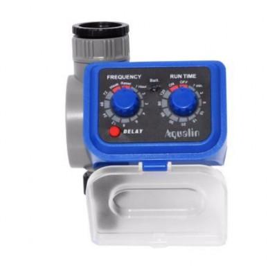AQUALIN 21003 Таймер полива с электромагнитным клапаном, с функцией задержки