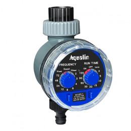 AQUALIN 21025 Таймер полива с шаровым клапаном, механическим управлением