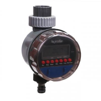 Таймер для полива электронный с шаровым клапаном и УФ защитой